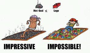 impressive vs impossible