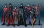 modern batfamily