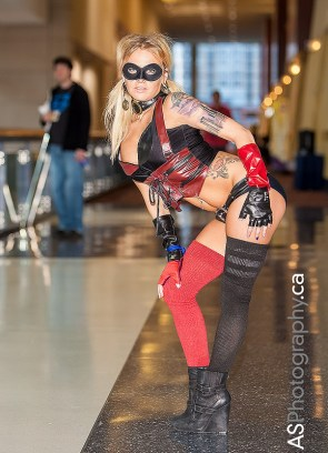 sexy harley quinn cosplay