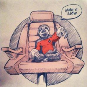 star trek sloth – make it slow
