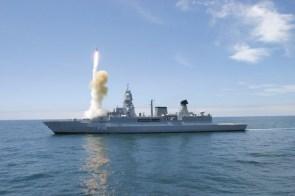 ship fires missile