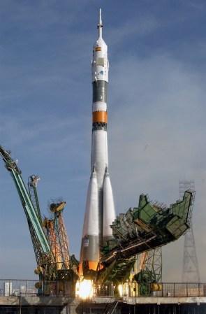 Soyuz take of