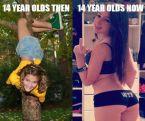 14 then vs now