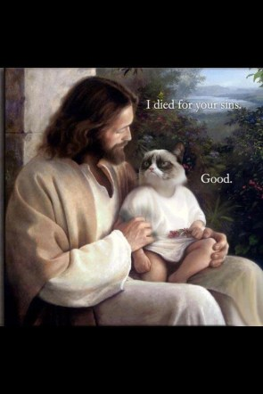 I died for your sins – good