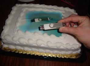 USB Cake