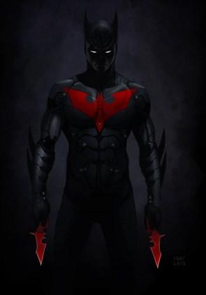 batman beyond with batarangs