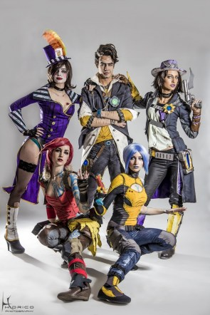 borderlands 2 cosplay group by hidrico
