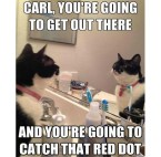 carl, you are going to get out there