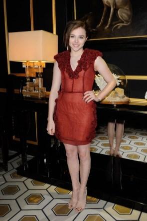 chloe moretz in a see through dress