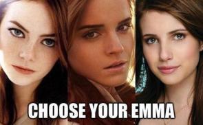 choose your emma