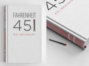fahrenheit 451 custom book