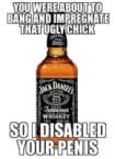 jack daniels penis disabler