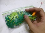 lego pot leaves