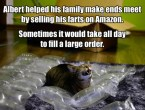 selling his farts on amazon
