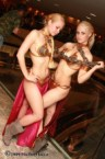 slave leia cosplayers