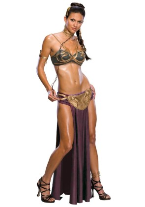 slave princess leia costume