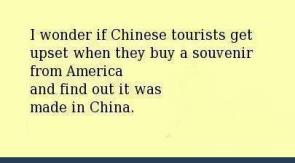 souvenirs made in china