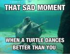 that sad moment