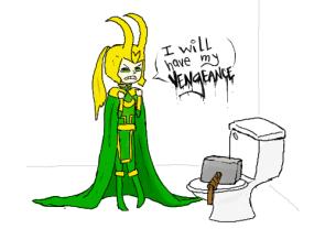 thor toilet humor