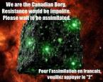 we are the canadian borg