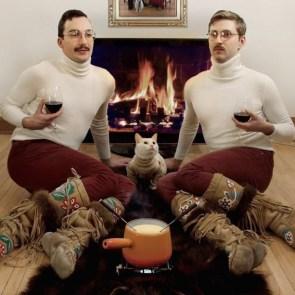 Fondu cat men