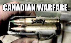 canadian warfare
