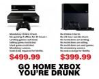 Go Home XBONE, you're drunk