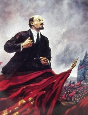 Lenin leads