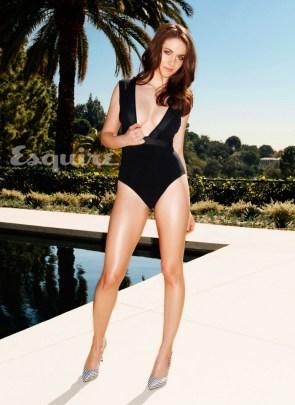 Alison Brie – Esquire – leggy