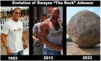 Evolution of Dwayne the Rock Johnson