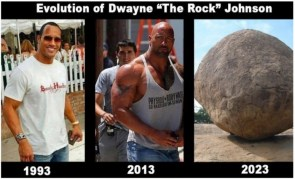 Evolution of Dwayne the Rock Johnson