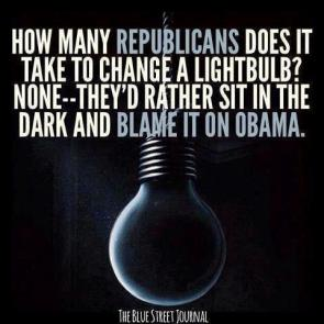 How many republicans does it take to change a lightbulb