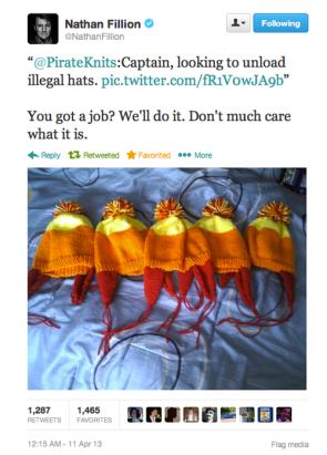 firefly hats on twitter