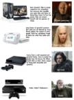 Next Generation Consoles vs Game of Thrones