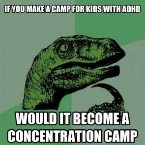 if you make a camp for kids with adha