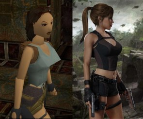 laura croft, then and now