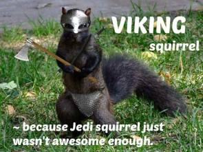 vikign squirrel