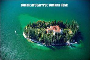zombie apocalypse summer home