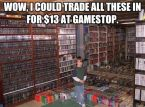 Gamestop trade in value
