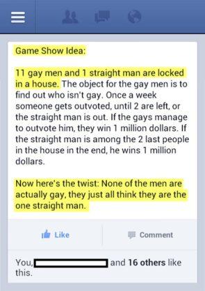 Gay Game Show Idea