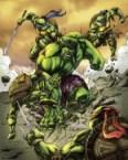 Hulk vs TMNT