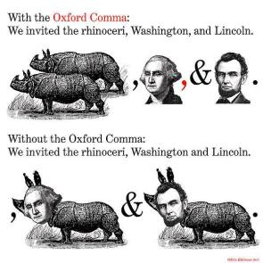 Oxford Commas