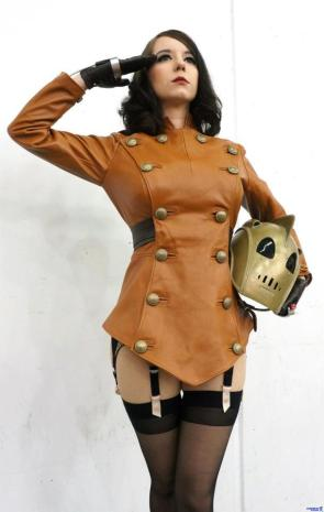 Rocketeer Cosplayer