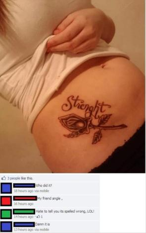 Strenght Tattoo