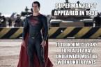 Superman vs Underwear