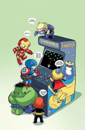 Thanos arcade game