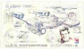 USS Enterpise blueprints
