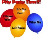 pity party time