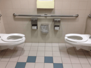 poorly designed toilet
