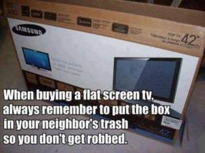 when buying a tv